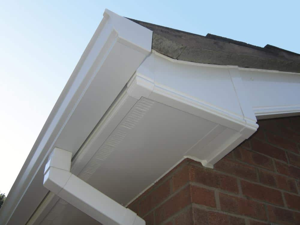 uPVC fascia, soffit, guttering and cladding