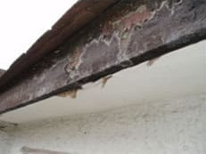 Replacement uPVC fascias, soffits and guttering in Surrey