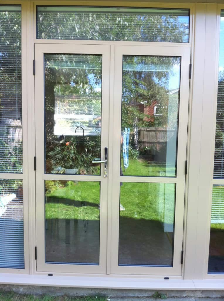 Aluminium Double Door