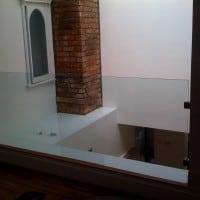 Interior staircase balustrade