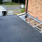 Rubberbonds EPDM flat roof membrane