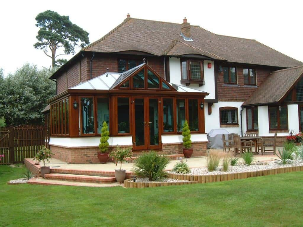 Hardwood Timber Conservatory