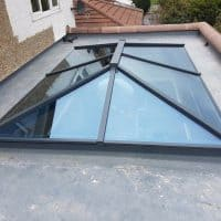 Atlas aluminium lantern roof light