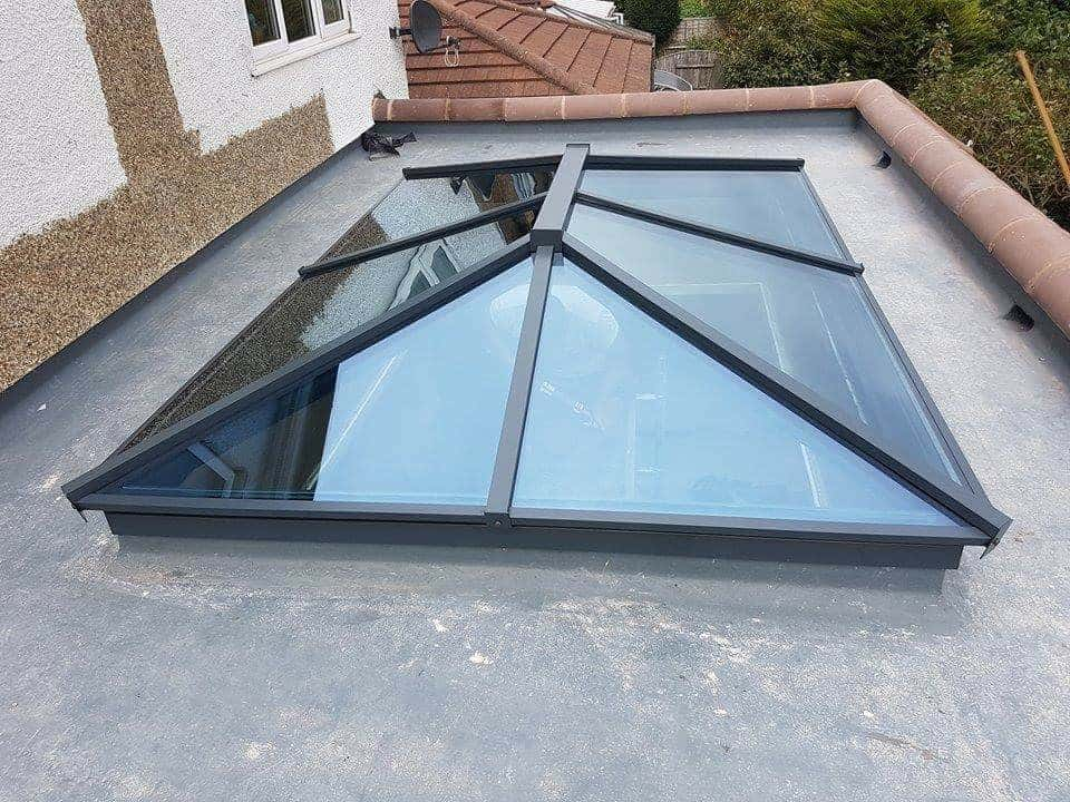 Atlas aluminium lantern roof light