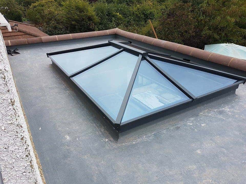 Aluminium Lantern Roof Light
