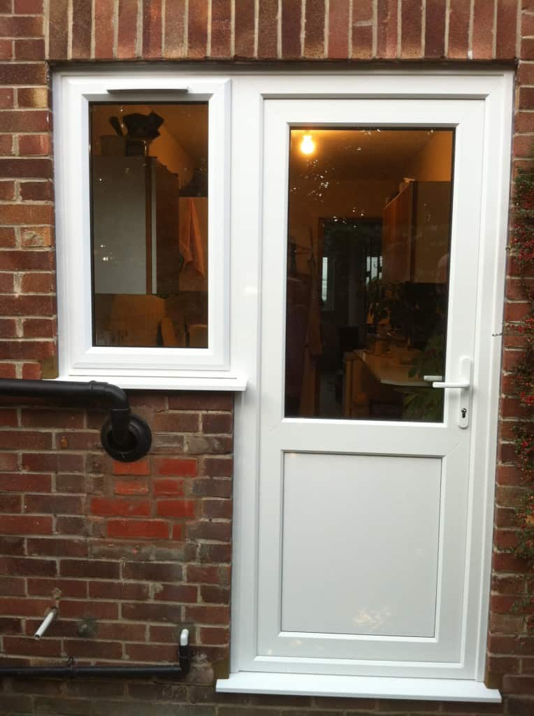 uPVC Front Door and Window
