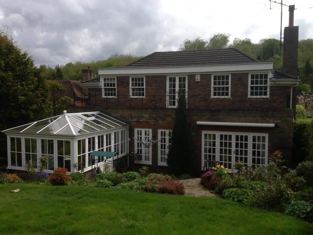Hardwood windows for a period property