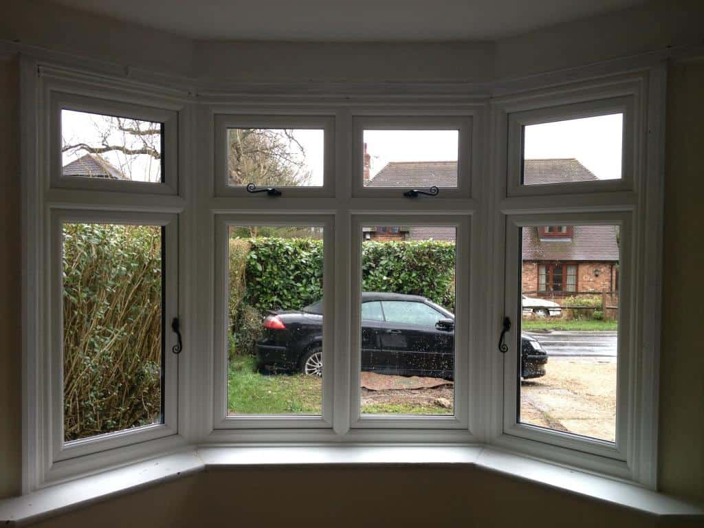 White woodgrain upvc window gallery dorking glass for Upvc windows