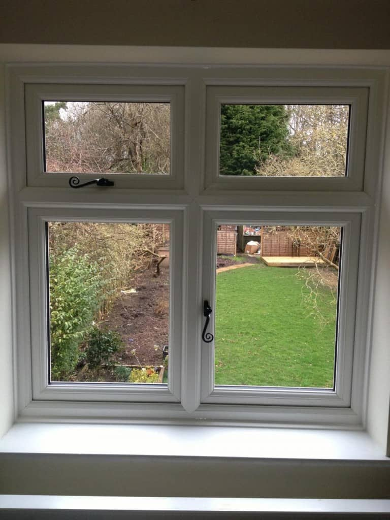 New uPVC bay and standard windows Ewhurst Surrey