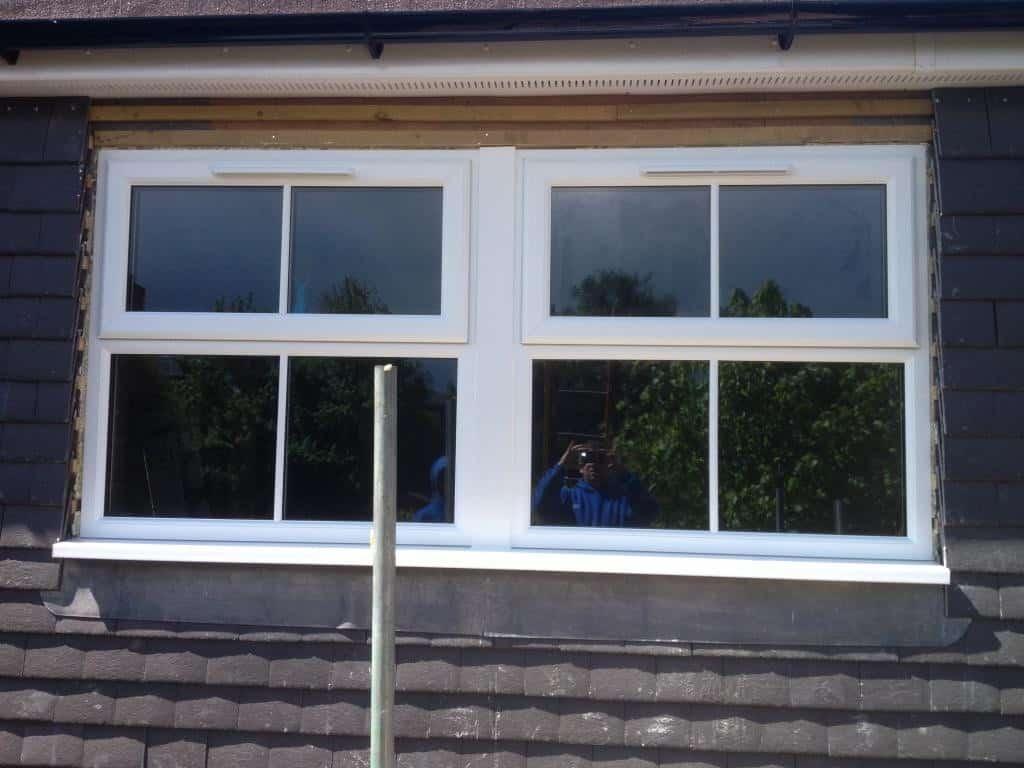 Rear Dormer and En-suite uPVC windows, Surrey