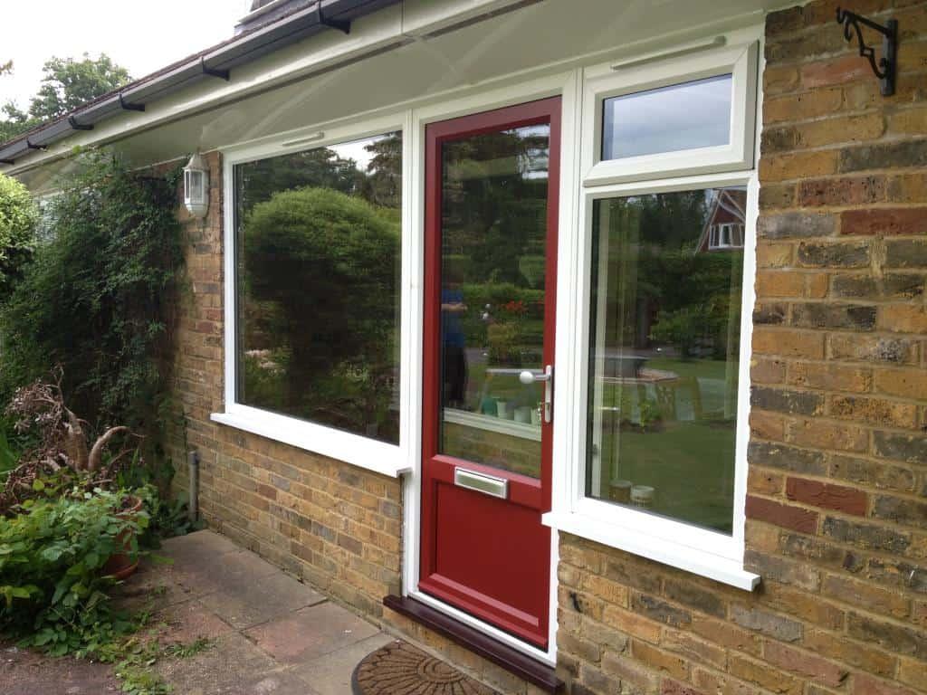 Double Glazed Porches : Double glazing bookham replacement upvc porch door