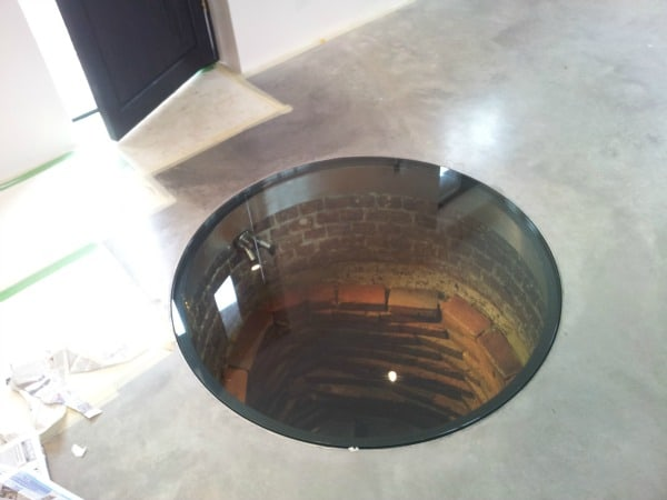 Recent Project - an interesting feature made of an old well!