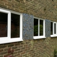 White, Liniar profile, A-rated uPVC windows with chamfered framing and beading