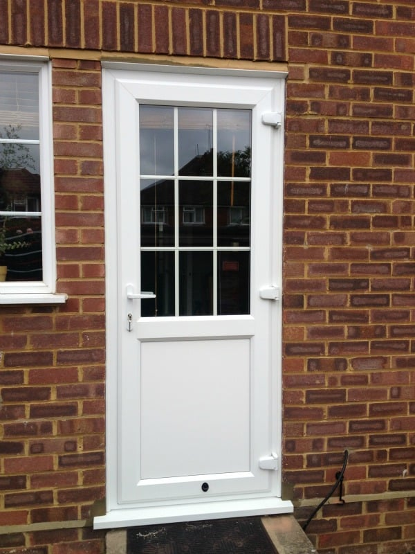 Like-for-like uPVC Door Replacement, Surrey.