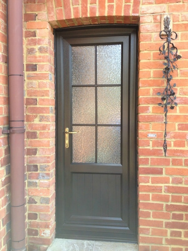 Double Glazing Dorking Upvc Front Entrance Door