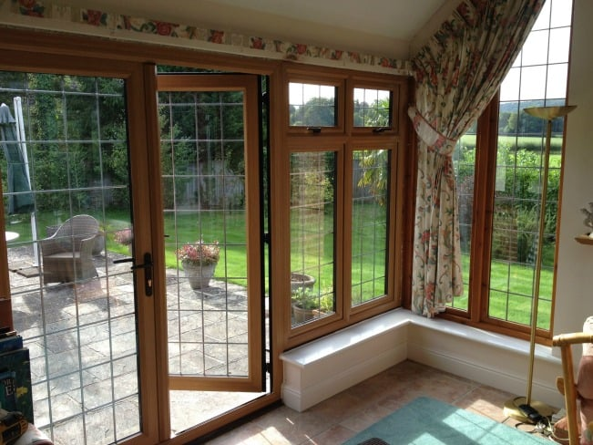 Low maintenance, secure double glazing, Surrey