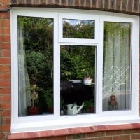 Aluminium windows fitted in Capel by Dorking Glass