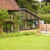 Black Aluminium Windows Installed by Dorking Glass in Abinger Common