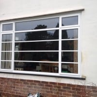 Double Glazing Crittle Replacement White Aluminium Windows in Westhumble Dorking Glass (3)