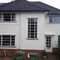 Double Glazing Crittle Replacement White Aluminium Windows in Westhumble Dorking Glass (4)