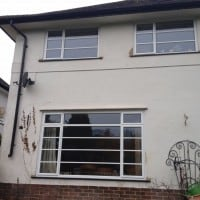 Double Glazing Crittle Replacement White Aluminium Windows in Westhumble Dorking Glass (5)