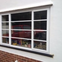Double Glazing Crittle Replacement White Aluminium Windows in Westhumble Dorking Glass (7)