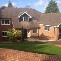 Double Glazing White Aluminium Windows Westcott Dorking Glass