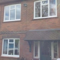 Double glazed aluminium window in capel