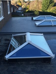 uPVC Skypod lantern roof light