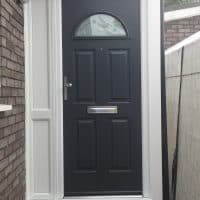anthracite-grey-composite-front-door-in-westhumble-by-dorking-glass