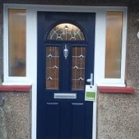 blue-composite-front-door-installed-by-dorking-glass