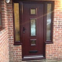 double-glazing-rosewood-colour-upvc-composite-front-door-in-reigate-dorking-glass
