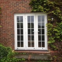 white-upvc-door-installed-in-shere-by-dorking-glass